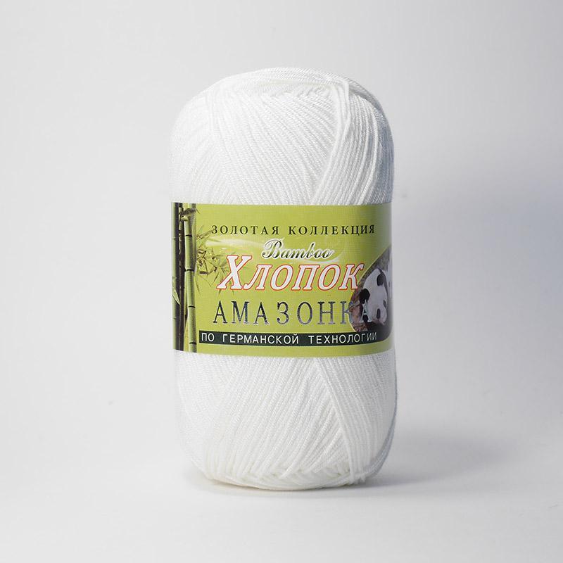 Пряжа Амазонка 102 - молочный