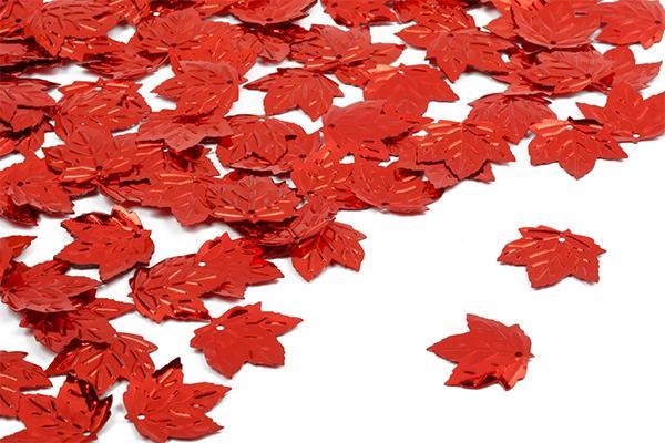 Пайетки TBY-FLK639 22х22мм 50гр 003 красный