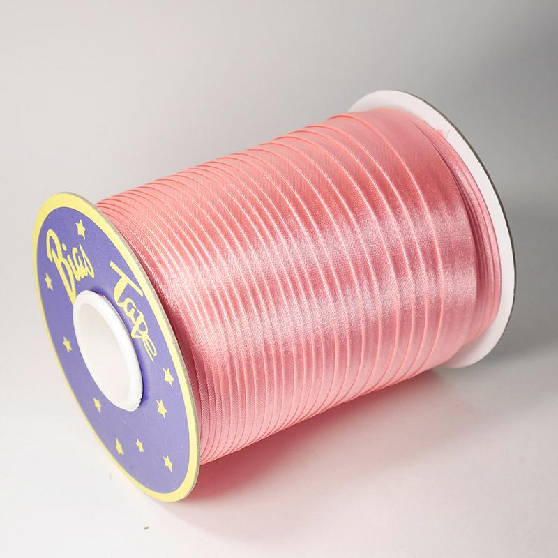 Косая бейка атлас. №39 15мм 120 ярд яр.розовый