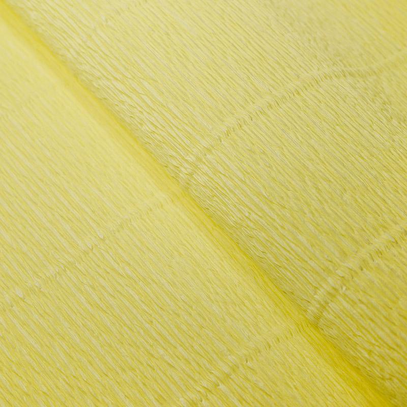 Бумага гофрированная 50см 2,5м 140г/м2 Италия 974 карминово-желтый