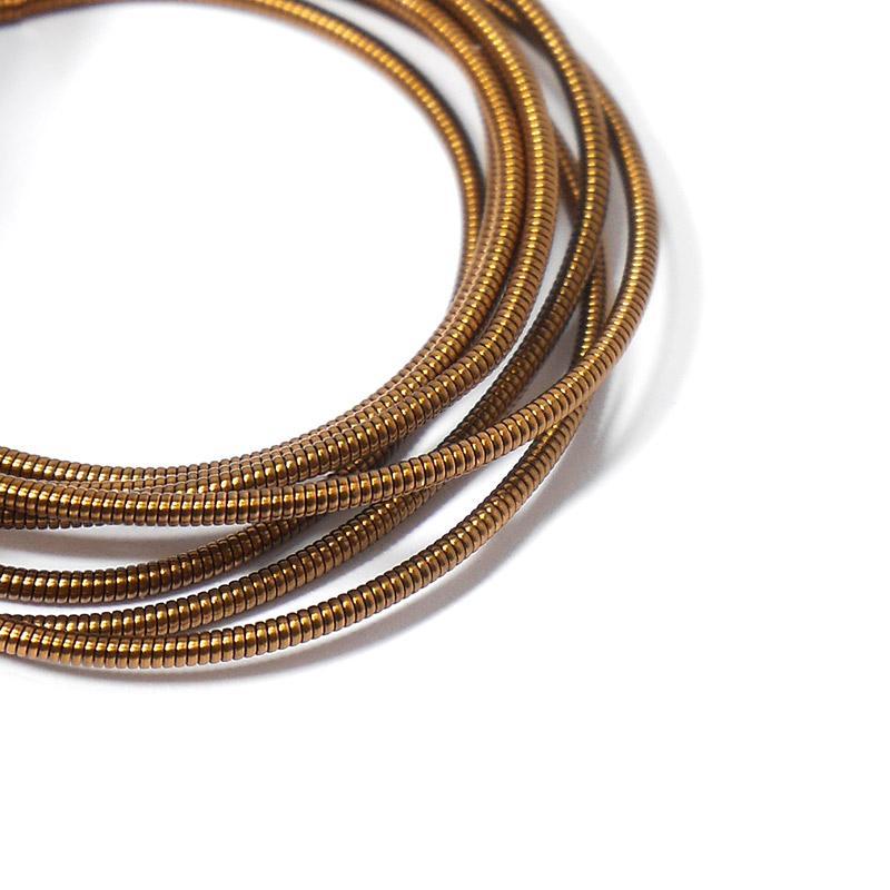 Канитель 1,25мм 7479-EMBGW античное золото 5гр