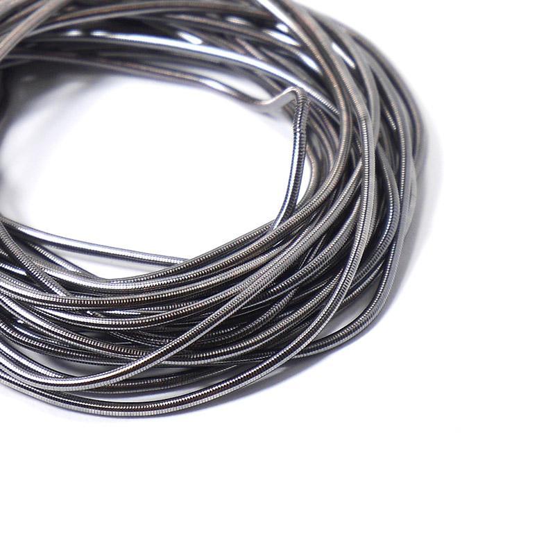Канитель 1мм 779ЕМВ античное серебро 5гр