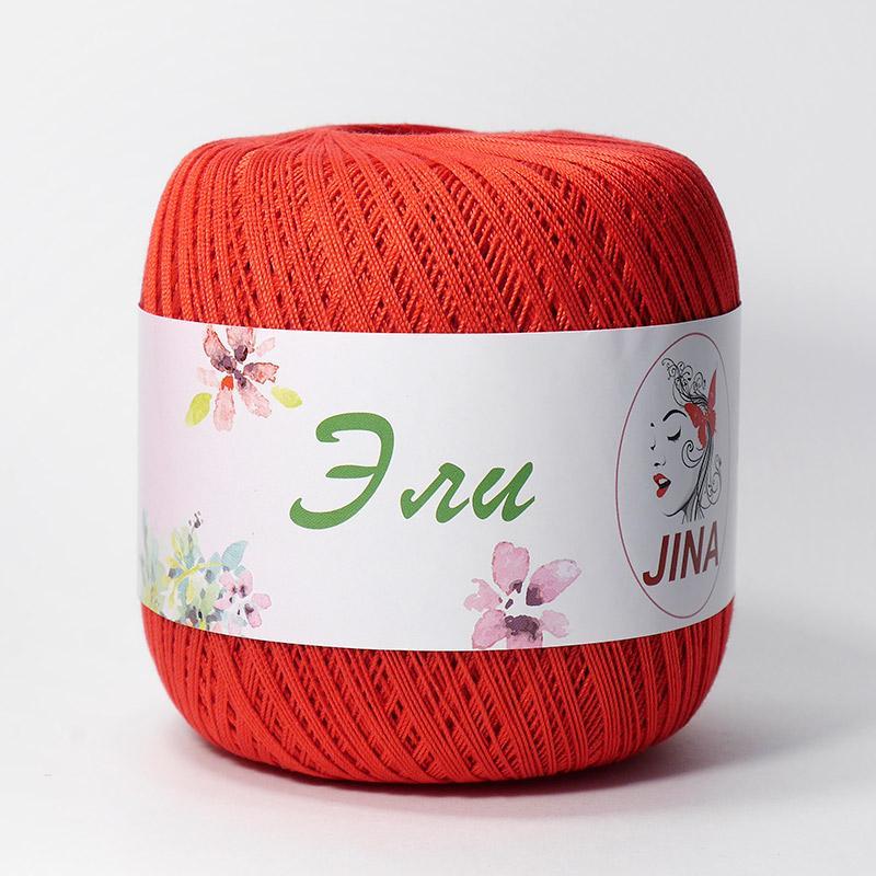 Пряжа Эли 6328 - красный