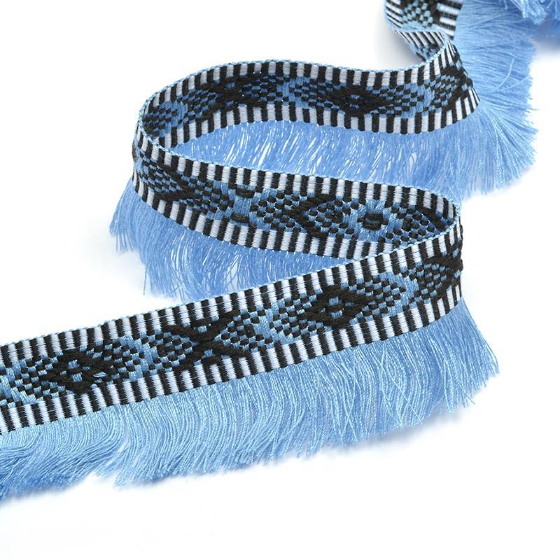 Тесьма Деним TBY-OR01 25мм 13,71м 3 голубой