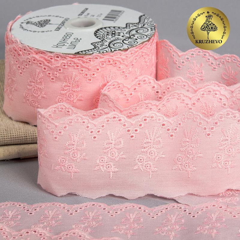 Шитье TCB-20S10 55мм 13.71м 50%полиэстер, 50%хлопок, 240 розовый