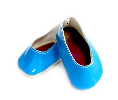 Туфли для игрушек 65х25мм голубой 26706