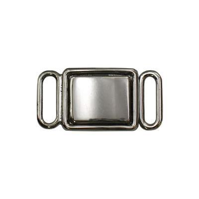 Застежки для бюстгальтеров ВВТ039 27х14мм 10шт металл 04 никель