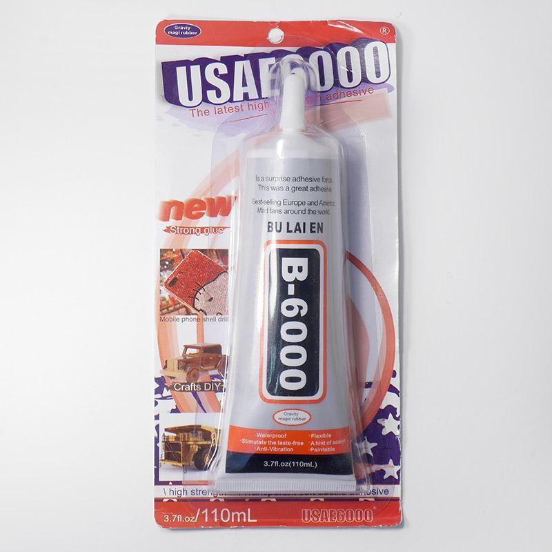 Клей для страз и полубусин 110мл В-6000 в блистере